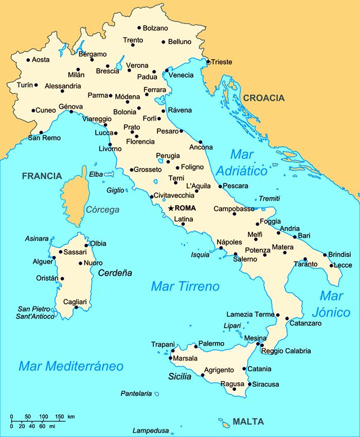 Geografía de Italia (1) – Blog de Italia